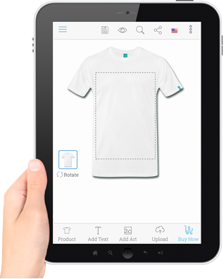 Custom Product Designer T Shirt Ecommerce